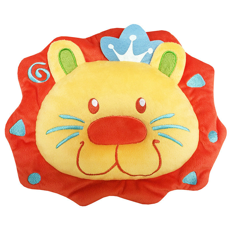 [620984] Comfy Contour Infant Pillow-Logan Lion