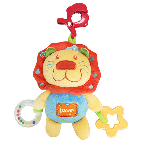 [621004] Petit Play™ Pull String Pals - Logan Lion