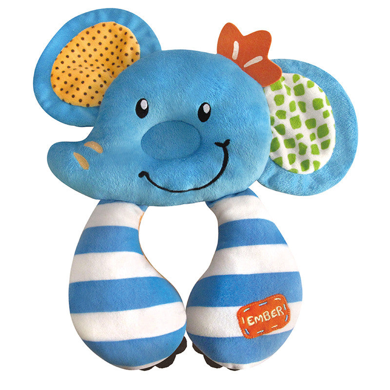 [622209] Comfy Travel Pals, Support Pillow-Ember