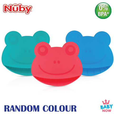 [NB92910] Nuby Silicone Placemat in Frog  Design