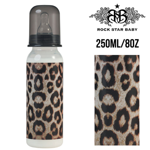 [97071] RSB Narrow Neck Bottles - LEOPARD (250ml/8oz)