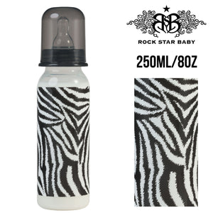 [97072] RSB Narrow Neck Bottles - ZEBRA (250ml/8oz)
