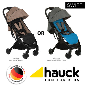 Hauck Swift - Grey Azure [H160022] / Beige Caviar [H160015]
