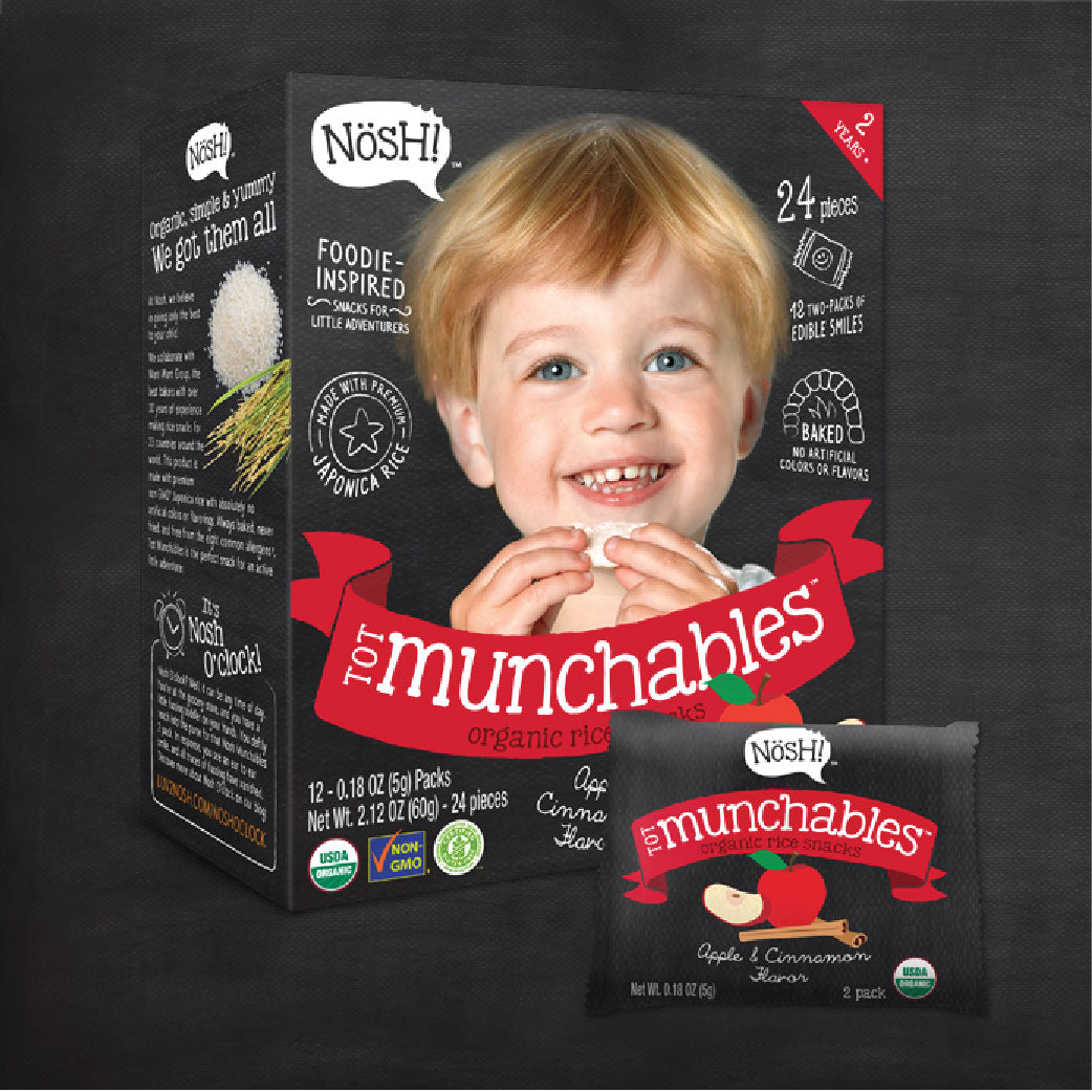 [N6077] TOT MUNCHABLES™ - Apple & Cinnamon Flavor