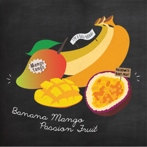 [N6114] SMOOTHIE SNAPS™ - Banana Mango Passion