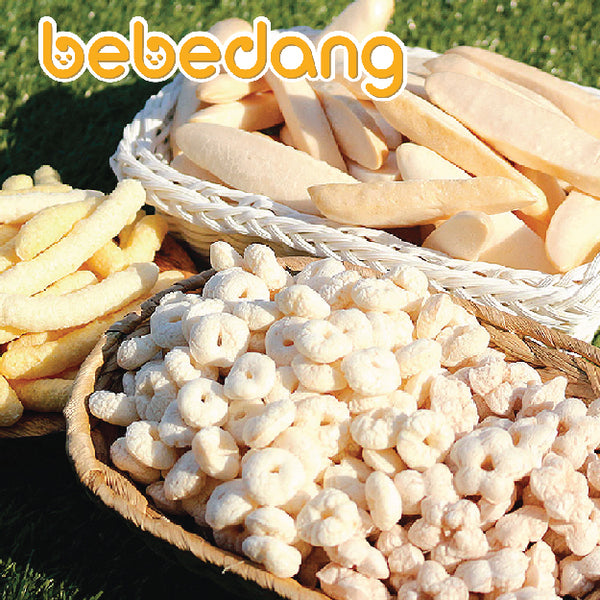 [B70027] Bebedang Organic Brown Rice Stick - Rice Bud & Cheese & Carrot