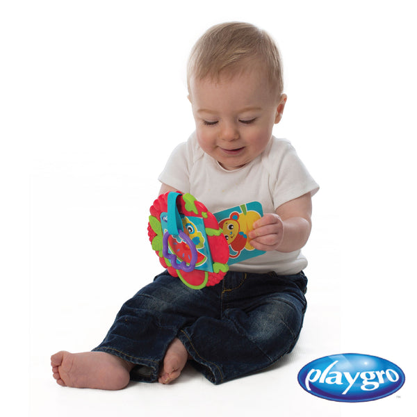 PG0185483 Playgro Teething Time Activity Book