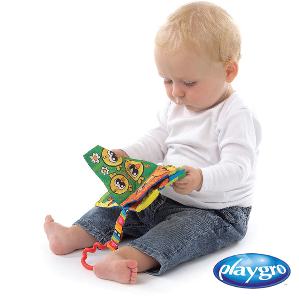 PG0185484 Playgro Touch  and Learn Texture Book