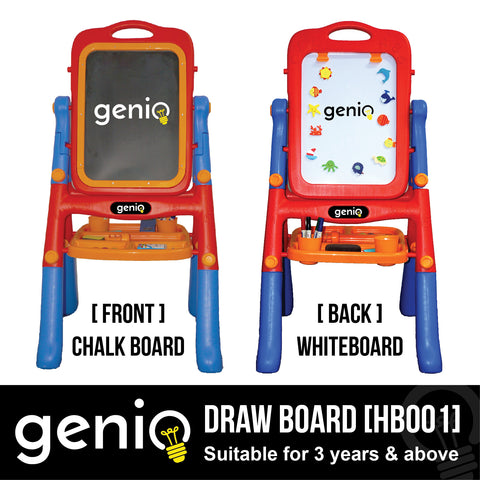 GENIO Draw Board - Double Sided [HB001]