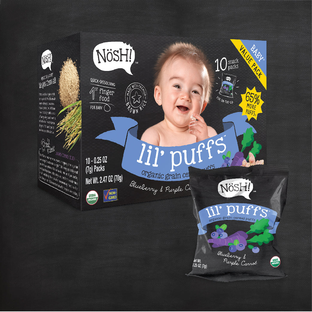 [N6121] LIL' PUFFS® - Blueberry & Purple Carrot