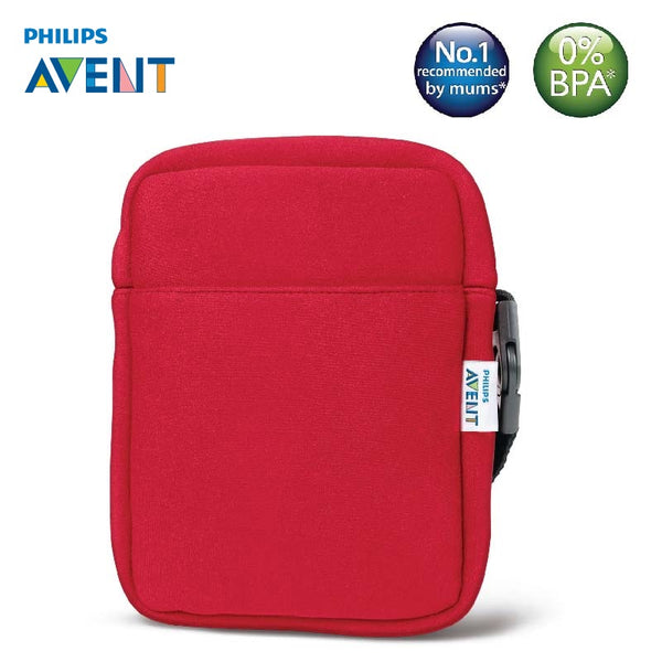 [SCD150/50] Philips Avent Avent Neoprene ThermaBag - Red