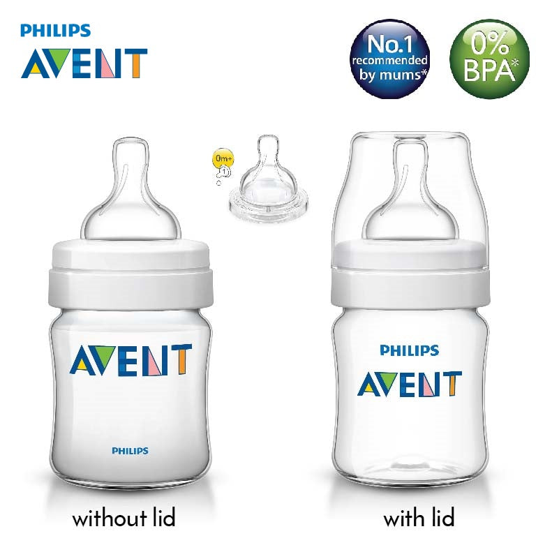 [SCF560/17] Philips Avent Classic Plus Feeding Bottle 4oz/125ml (Single)