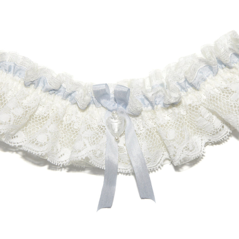 Charis Floral Lace Wedding Garter