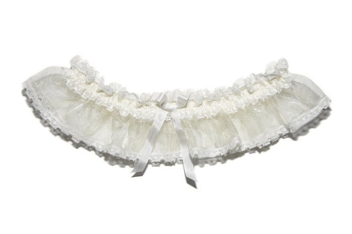 Elphie Sheer Lace Wedding Garter