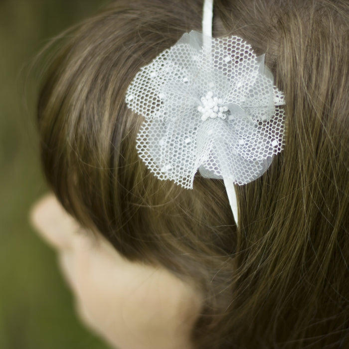 Discover our pretty flower girl hairband, Ivory Silk Flower Headband, Flower Girl Accessories, Hairband for Flower Girl, Flowergirl, silk pink flower hairband, Flower girl hair accessories,