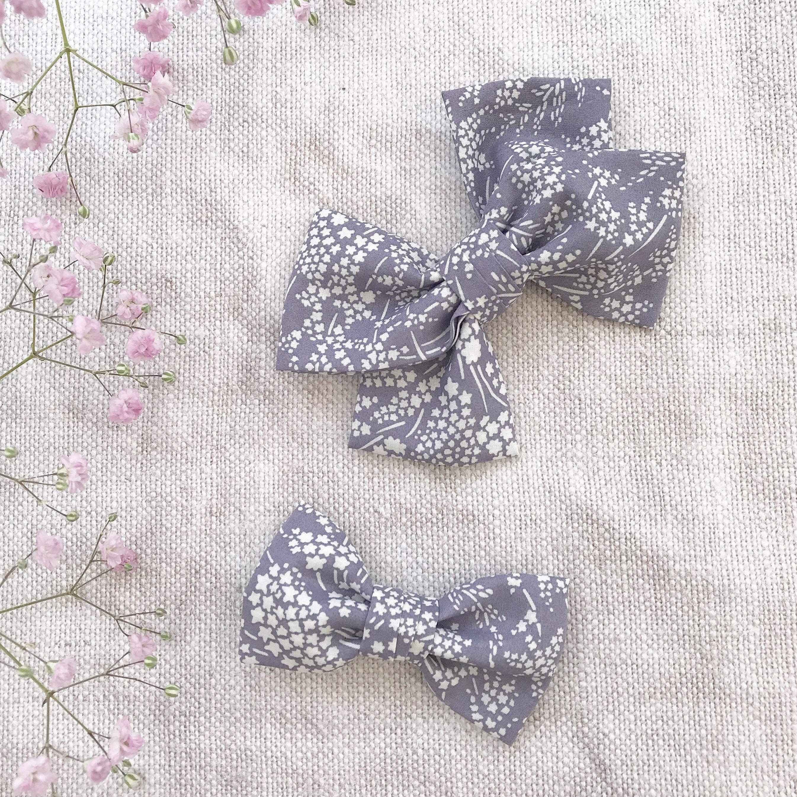 Liberty Floral Bow / Whispering Stars