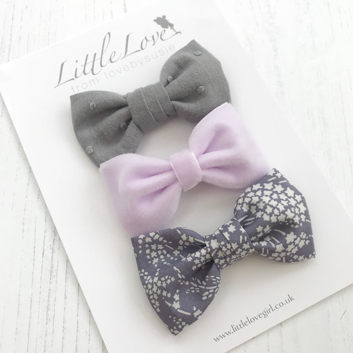 Whispering Stars/ Hair Bow Set