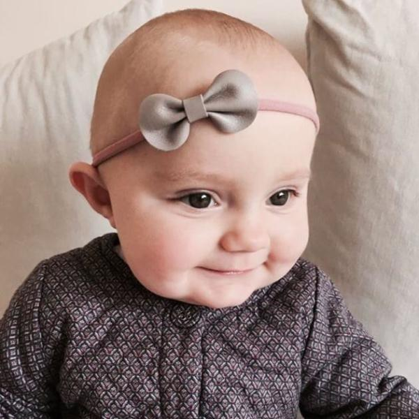 Toddler or Baby Bow Headband / Autumn