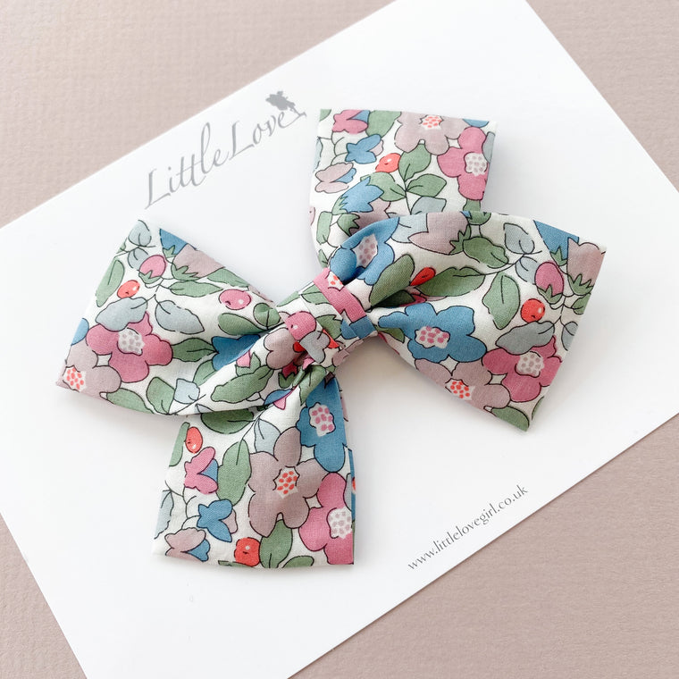 Liberty Bow / Betsy Berry Rose & Teal