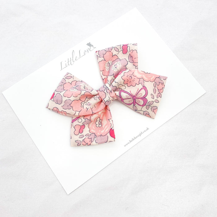 Liberty Floral Bow / Betsy Rose