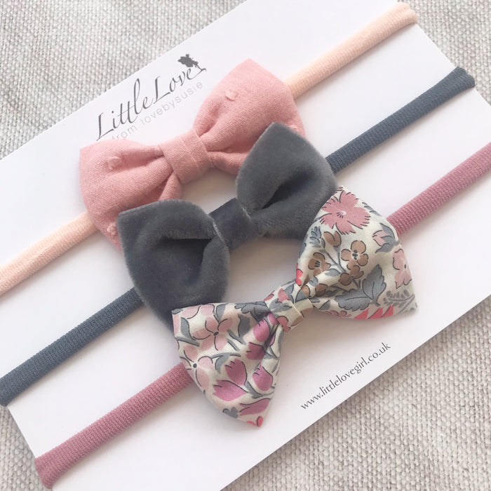 Baby Bow Headband Set /Sweet May