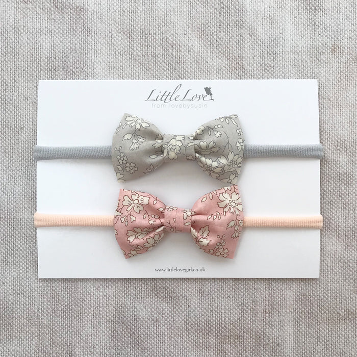 Liberty Bow Baby Headband / Capel