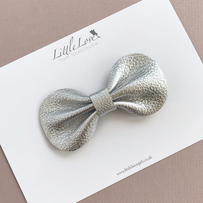 COCO Classic Bow/ Metallic Leather