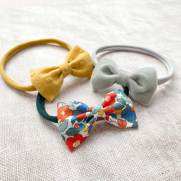 Baby Bow Headband Set / DELILAH