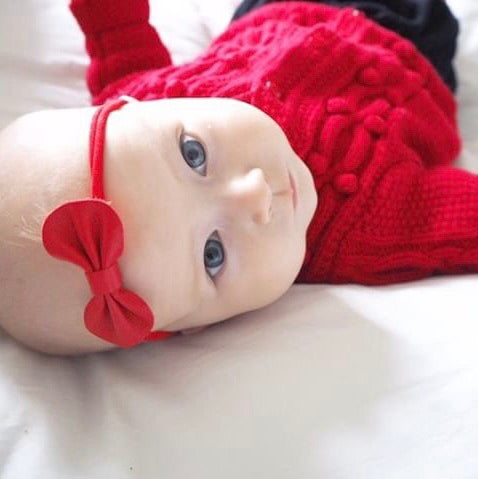 Baby Bow Headband Set /Christmas