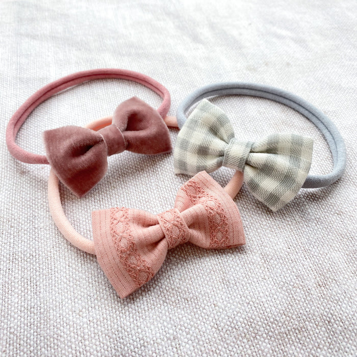Baby Bow Headband Set / AMELIE