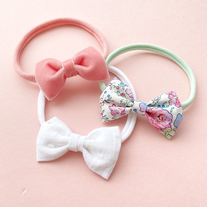 Baby Bow Headband Set / Felicite
