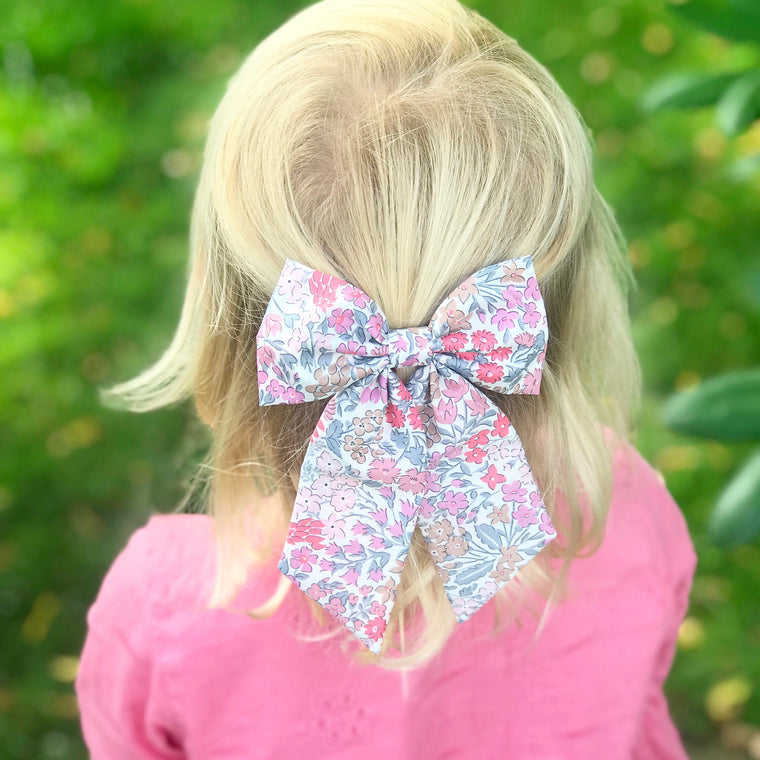 🌸Liberty Floral Bow🌸Sweet May