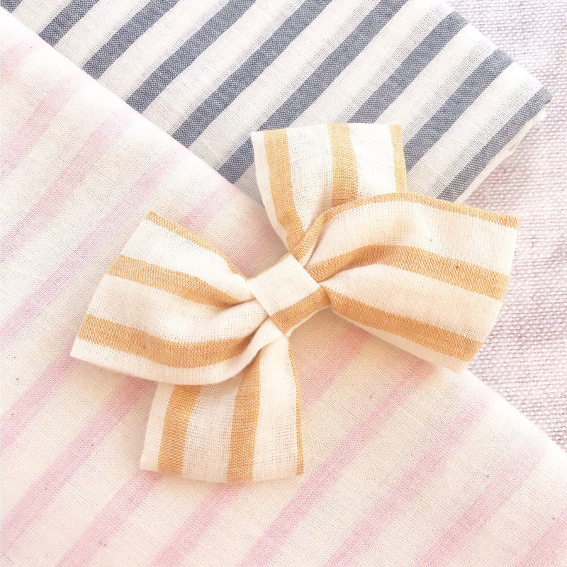 Summer Stripe Bow