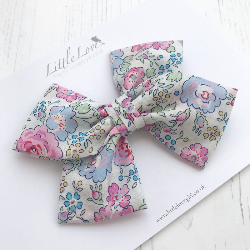Liberty Floral Bow / Felicite