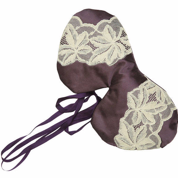 Marici Silk Eye Mask with lavender