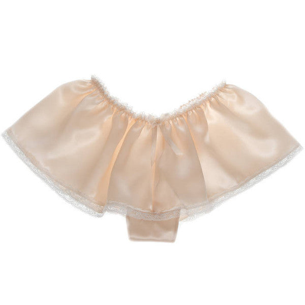 Aurelie Silk & Lace Wedding Knickers