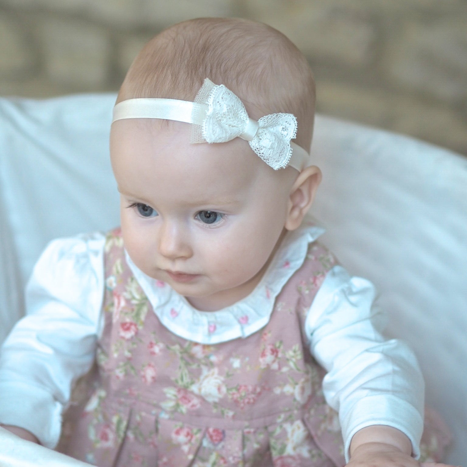 ... Little Love Christening Headbands for babies and toddlers fc3083bb8de