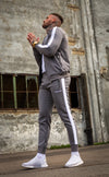 Grey Poly Tracksuit Jacket