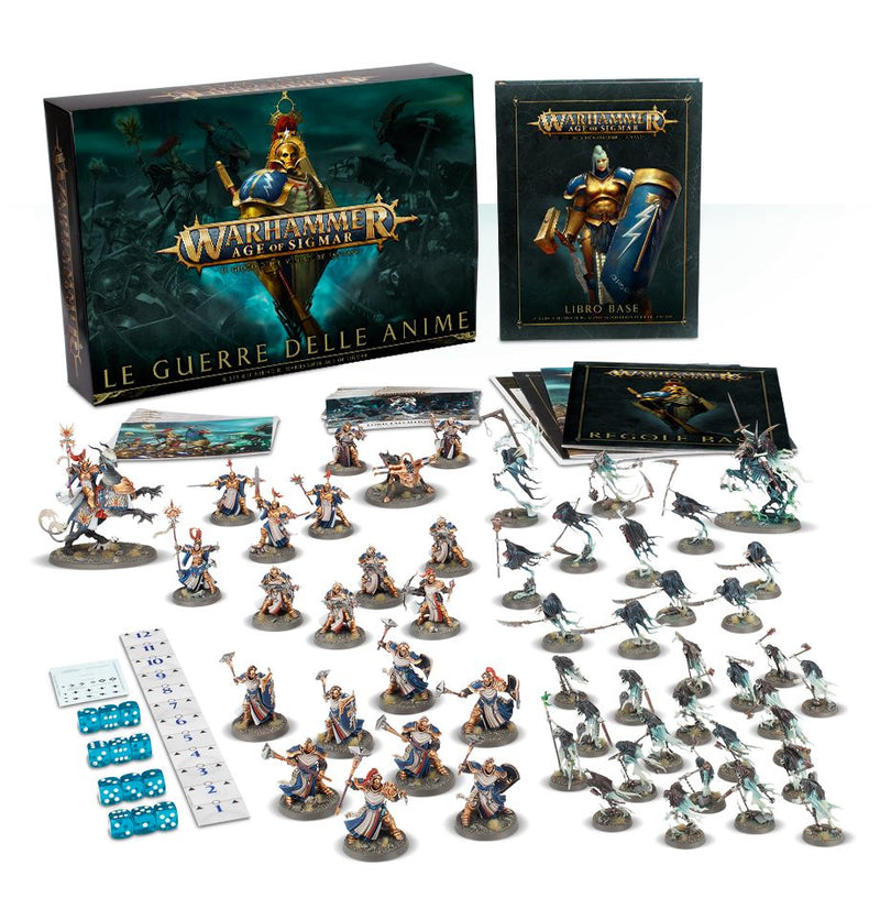 Age of Sigmar Le guerre delle Anime - ITA-Games Workshop- nuvolosofumetti.