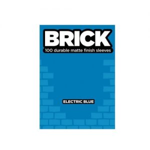 Buste per Cards Brick 100 Matte finish cleeves - Electric Blue-Legion- nuvolosofumetti.