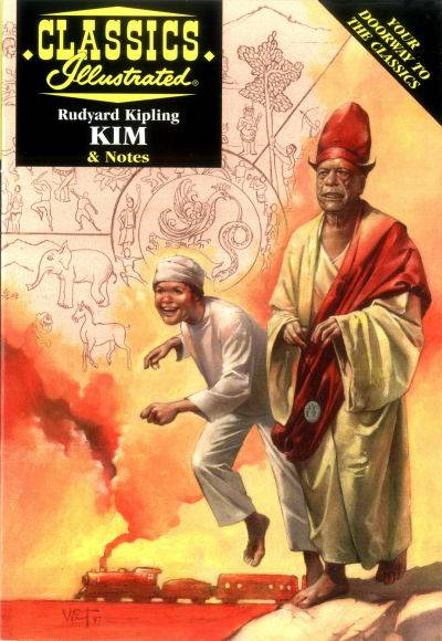 Classics Illustrated KIM & notes