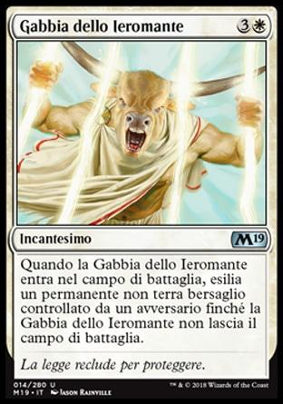 Gabbia dello Ieromante  M19 14-Wizard of the Coast- nuvolosofumetti.