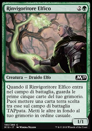 Rinvigoritore Elfico  M19 180-Wizard of the Coast- nuvolosofumetti.
