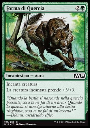 Forma di Quercia  M19 191-Wizard of the Coast- nuvolosofumetti.