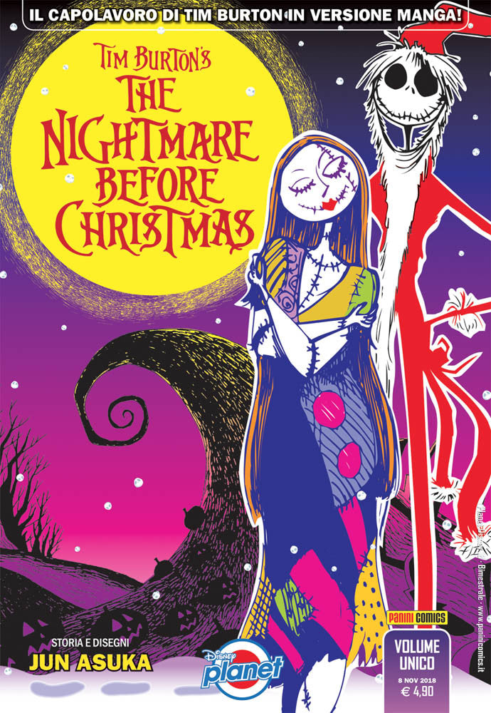 TIM BURTON`S THE NIGHTMARE BEFORE CHRISTMAS-PANINI DISNEY- nuvolosofumetti.