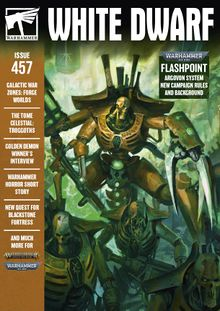 White Dwarf 457, GAMES WORKSHOP, nuvolosofumetti,