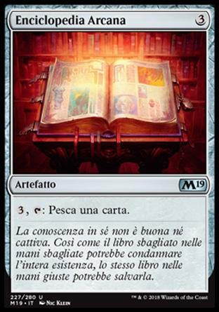 Enciclopedia Arcana  M19 227-Wizard of the Coast- nuvolosofumetti.