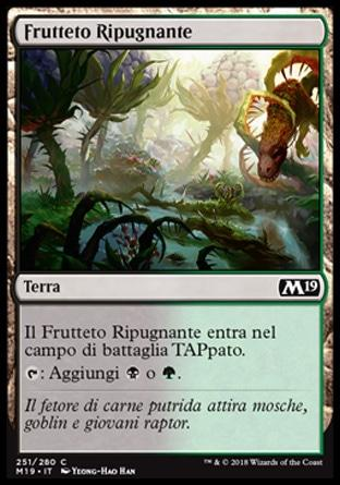 Frutteto Ripugnante  M19 251-Wizard of the Coast- nuvolosofumetti.