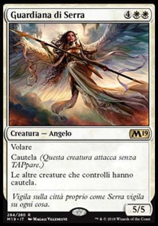 Guardiana di Serra  M19 284-Wizard of the Coast- nuvolosofumetti.