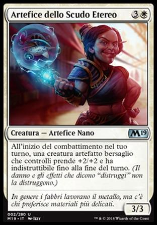 Artefice dello Scudo Etereo foil  M19-wizard of the coast- nuvolosofumetti.